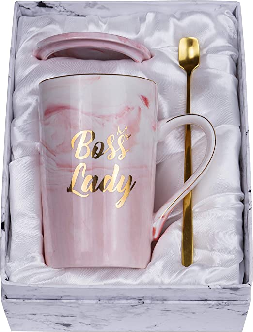 Amazon.com: Taza Jumway Boss Lady Mugs Worlds Greatest Boss ...