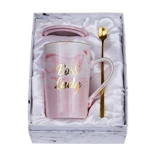 Jumway Boss Lady tazas - el mejor regalo para mamá y mujer ...