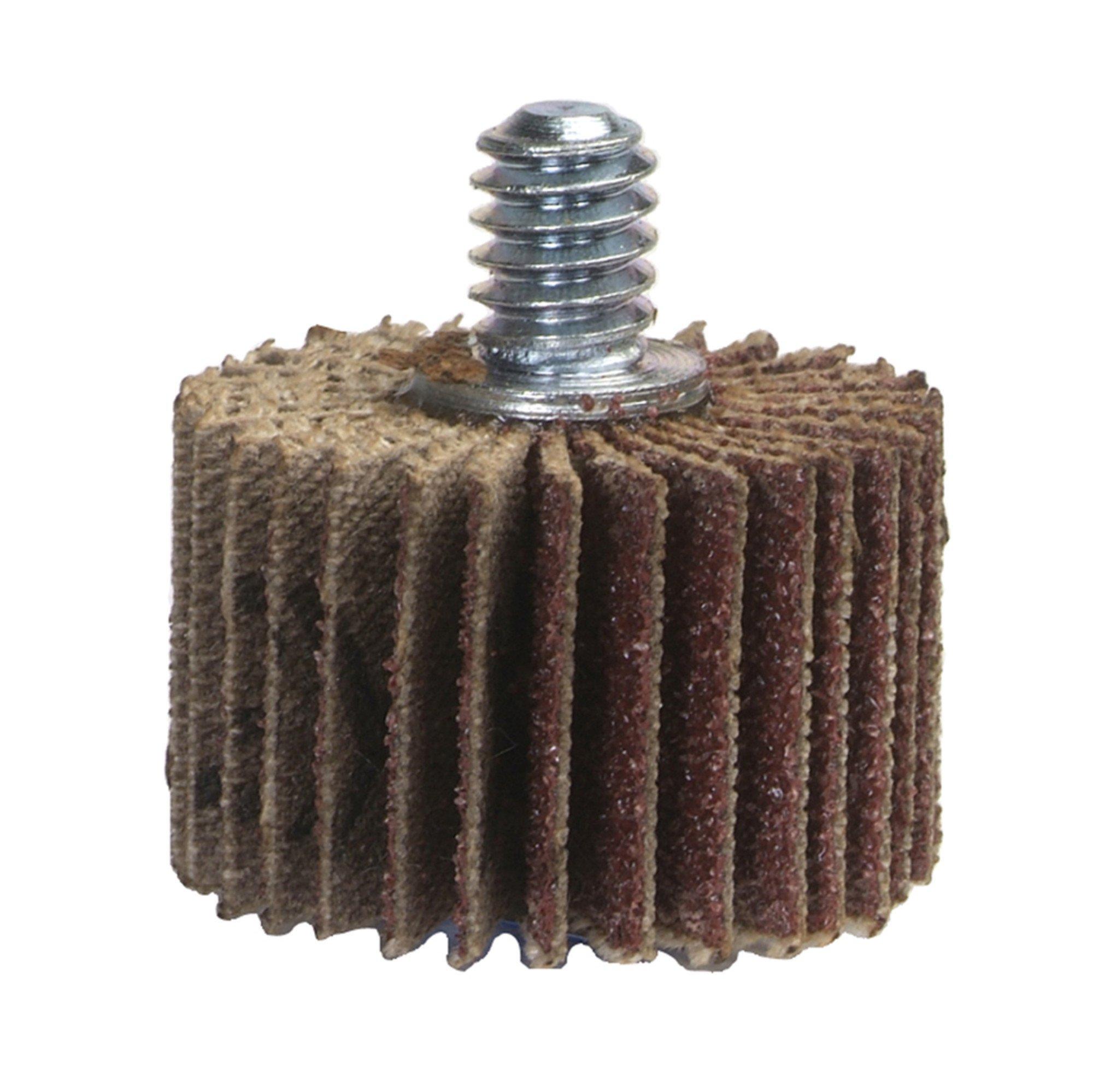 1 Box Of 10 Cgw abrasives 39932 Flap Wheels 2 X 1 X 1//4 Aluminum Oxide 60 Grit