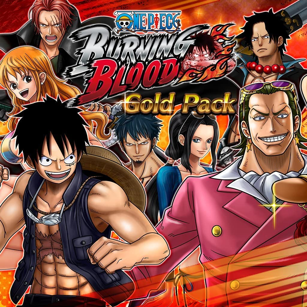 One Piece Burning Blood - Gold Pack - PS Vita [Digital Code]