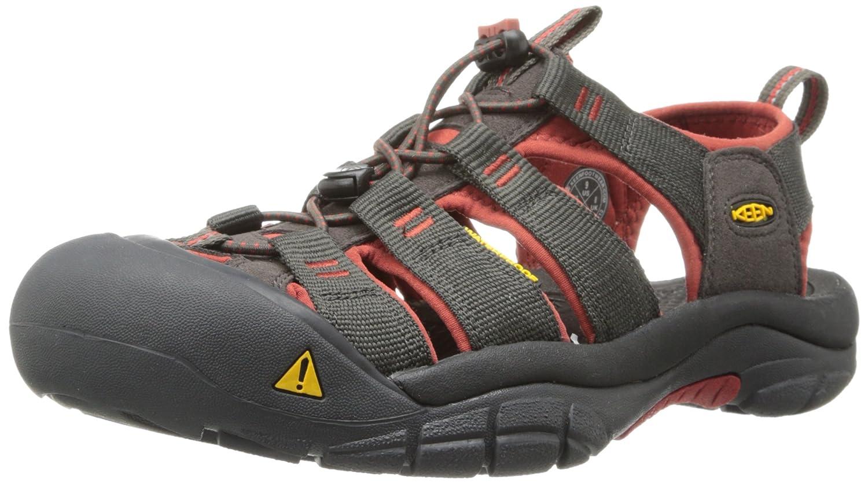 KEEN Men's Newport H2 Sandal B00E0JEK1M 9.5 D(M) US|Raven/Bossa Nova
