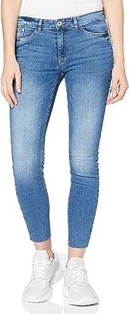 ICHI Ihbezan Lulu Midium Blue Vaqueros Skinny para Mujer