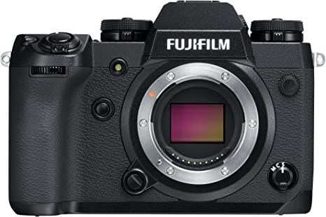 Fujifilm X-H1 - Cámara Digital sin Espejo (24.3 MP, 4K/30p) Color ...