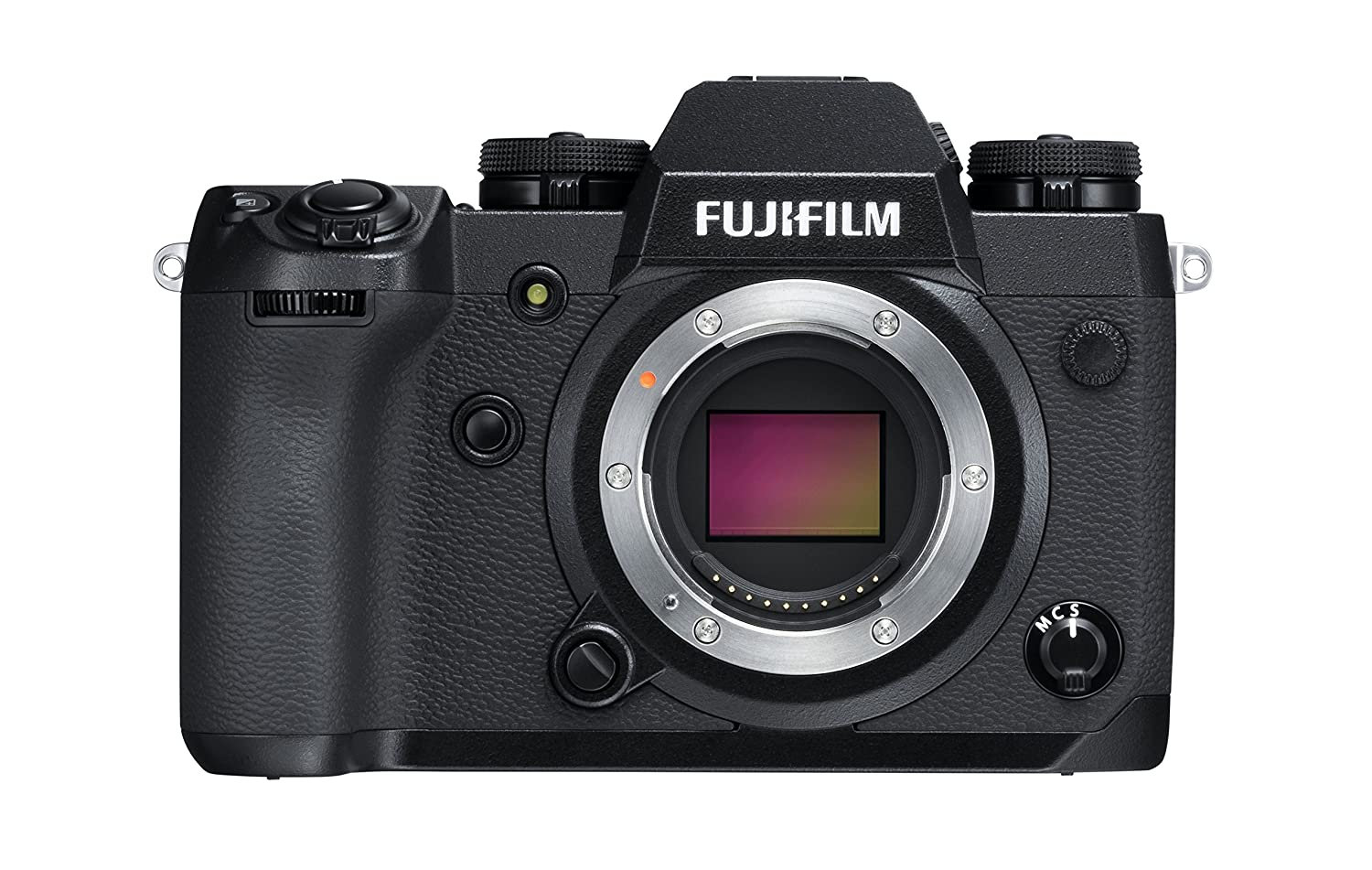 Fujifilm X-H1 - Cámara Digital sin Espejo (24.3 MP, 4K/30p) Color Negro