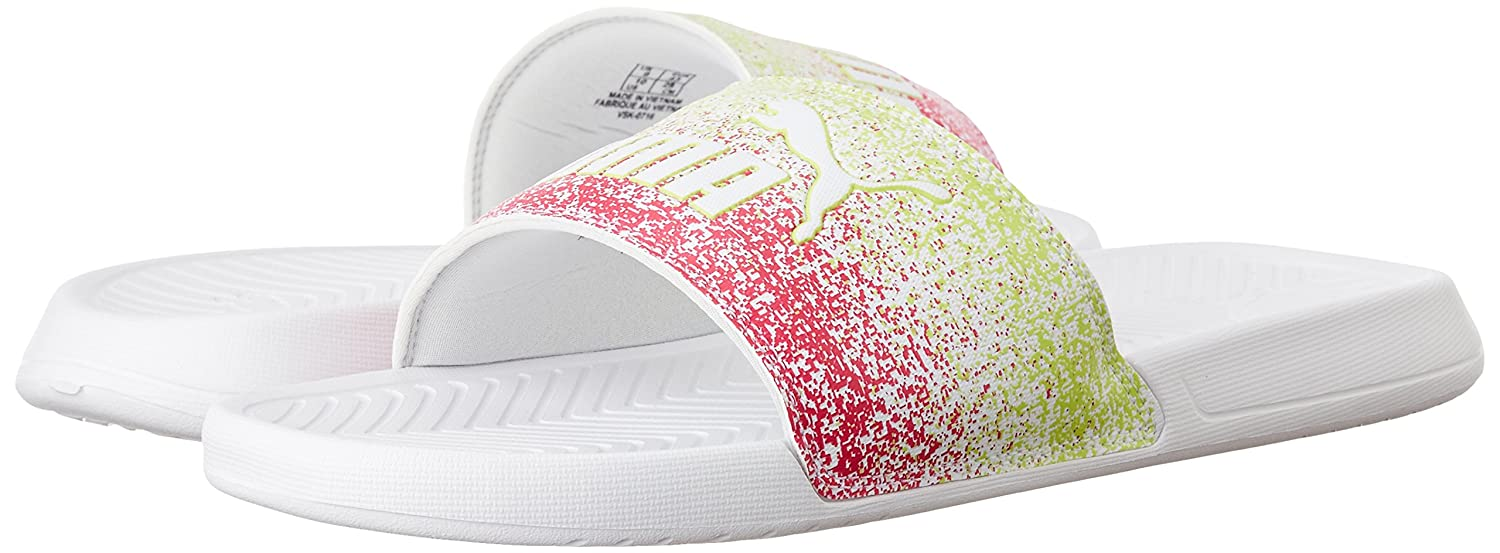 Puma Unisex Popcat Splash White Leather Flip-Flops and House Slippers - 11  Kids UK India (29 EU)  Buy Online at Low Prices in India - Amazon.in bfb959a01