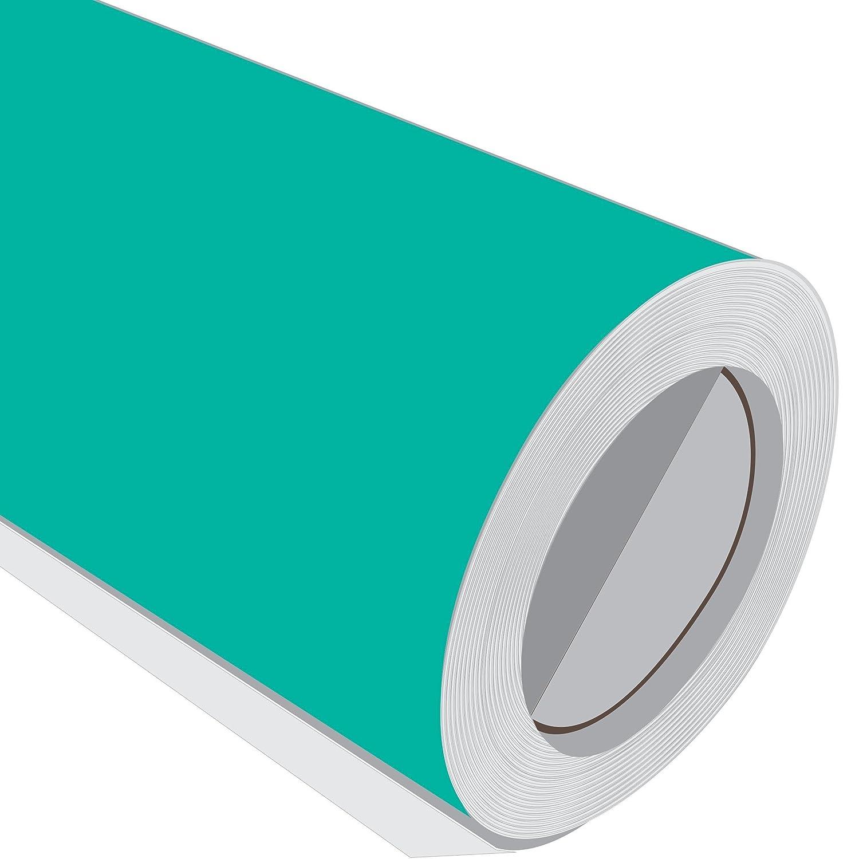 JCM gráfica Aqua Verde brillante vinilo adhesivo rollo 610 mm m 1 m mm 2 m 3 m 5 m 10 m 3 m 46c2ab