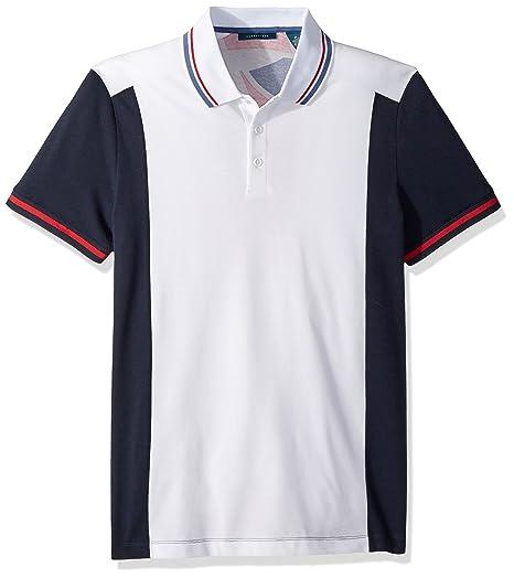 eb5986b7b49f6 Amazon.com  Perry Ellis Men s Abstract Printed Polo  Clothing