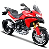 Maisto 531188 Ducati Multistrada 1200 MY '10 - Moto miniatura (escala 1:12), colores surtidos