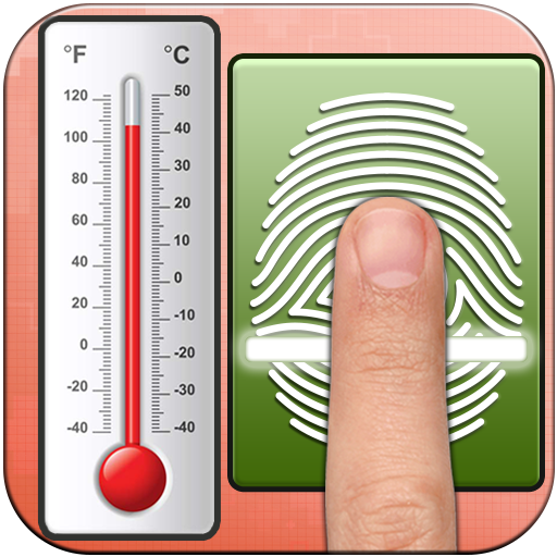 Fingerprint Body Temperature - Fever Checker Prank