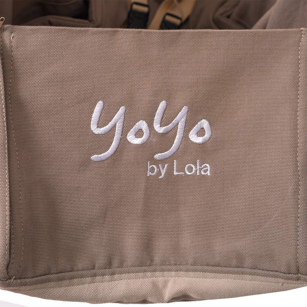 Lola Babyh/ängematte Babywiege YoYo BIG happiness Set mit Thermomatratze /ÖKO TEX