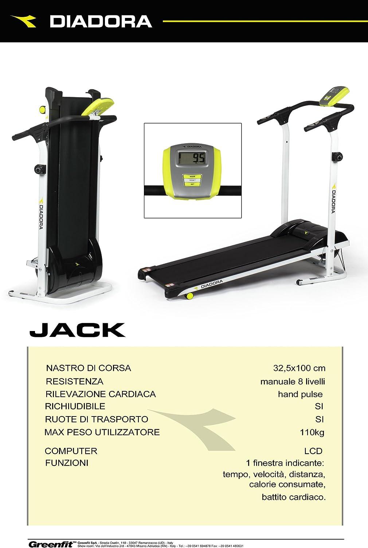 Cinta de andar Diadora Jack: Amazon.es: Deportes y aire libre