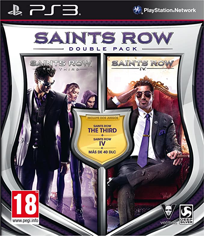 Saints Row: Double Pack: sony playstation3: Amazon.es: Videojuegos