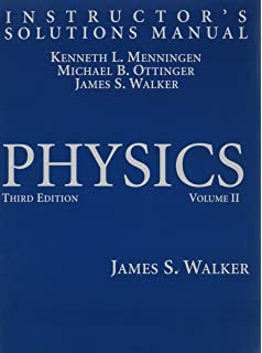 Physics 3rd edition james s walker 9780131536319 amazon books instructors solutions manual for physics vol 2 3rd edition fandeluxe Gallery