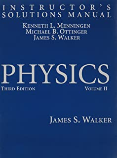 physics instructor s solutions manual james s walker rh amazon com physics walker 4th edition solutions manual physics walker 4th edition solutions manual