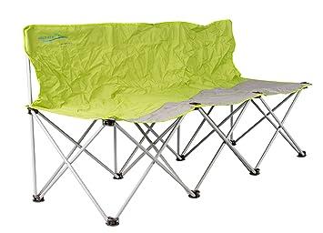 Meerweh Banc de Camping Pliable 3 Places Banc de Jardin Pliable Vert ...
