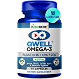 Omega 3 Better Than Fish Oil Supplements - Vegan Omega 3 - Omega 3 Fatty Acids Vegan DHA, DPA, EPA - Plant Based Algae…
