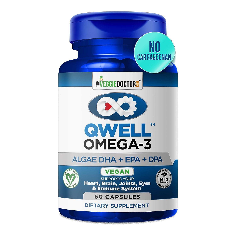 4. QWell Algae Omega-3