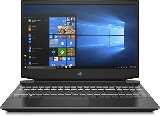 "HP - Gaming Pavilion 15-ec1001sl Notebook, AMD Ryzen 5, RAM 8 GB, SSD 512 GB, NVIDIA GeForce GTX 1650Ti 4 GB, Windows 10 Home 64, Display 15.6"""" FHD IPS Antiriflesso, Webcam HP TrueVision 720p, Nero"""