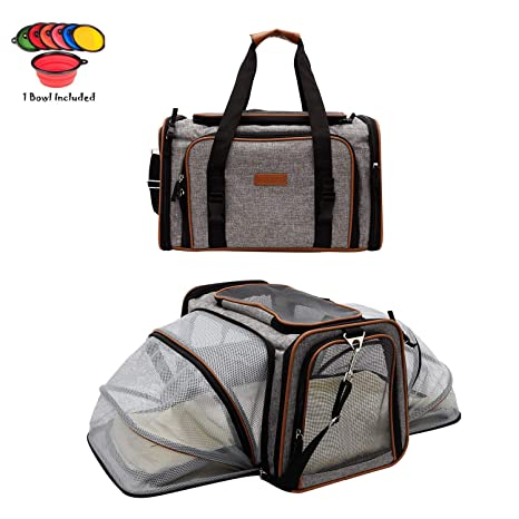 60dc3283c0 Dog Carrier Pet Carrier for Cats - Cat Carriers for Medium Cats - Dog  Carriers for