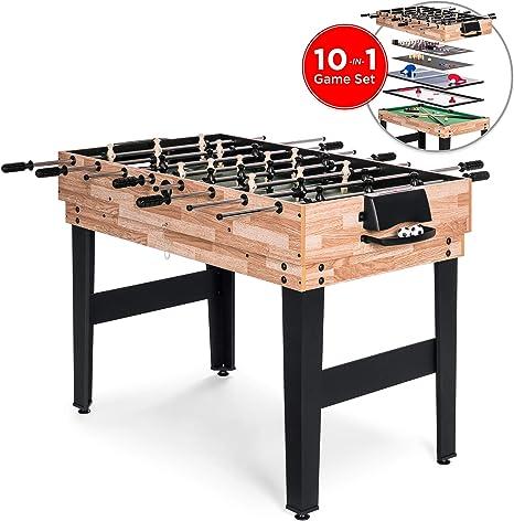 Best Choice Products Juego de mesa de juego intercambiable de 2 x ...
