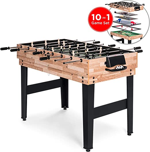 Best Choice Products 10-in-1 Game Table - Best Multi-Game Table