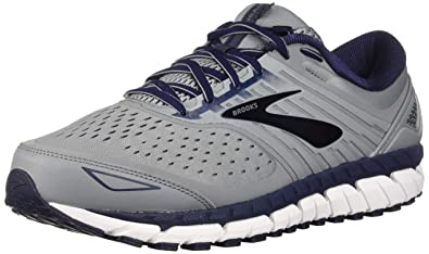 a13e688e103cb Brooks Men's Beast 18 4E Extra Wide, Black/Grey/Silver: Amazon.com ...