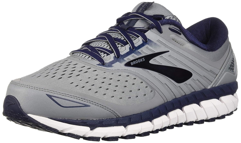 Grey Navy White Brooks Men's, Beast 18 Running shoes
