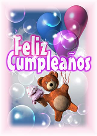 Amazon.com: Español Happy birthday-feliz Cumpleanos card ...