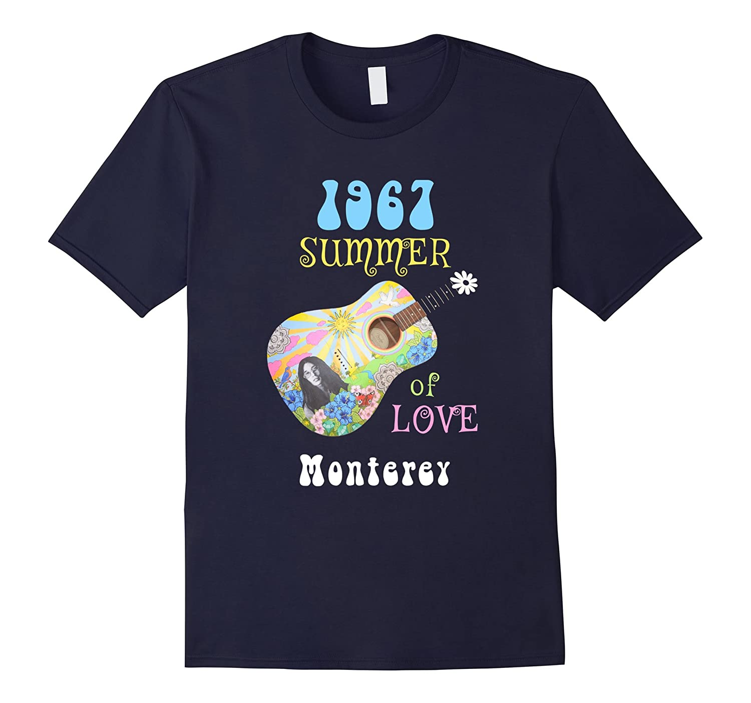 1967 Summer of Love Monterey Hippie T-shirt-CD