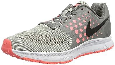 huge selection of 2110a e3f46 Nike Damen WMNS Zoom Span Laufschuhe, Mehrfarbig (Dust/Black-Lava Glow-