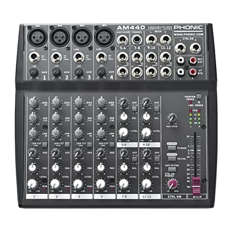 Phonic AM440 Analog Mixer