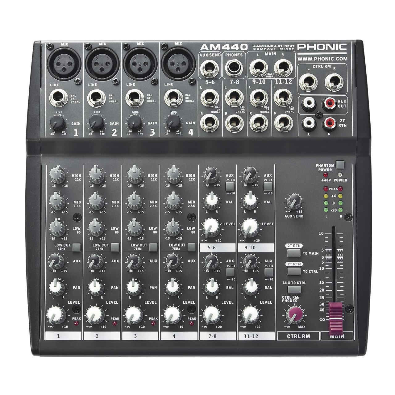 Phonic Mixer - Unpowered (AM440)