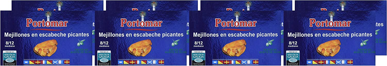 Mejillones de las Rías Gallegas en escabeche picantes- 8-12 pzs ...