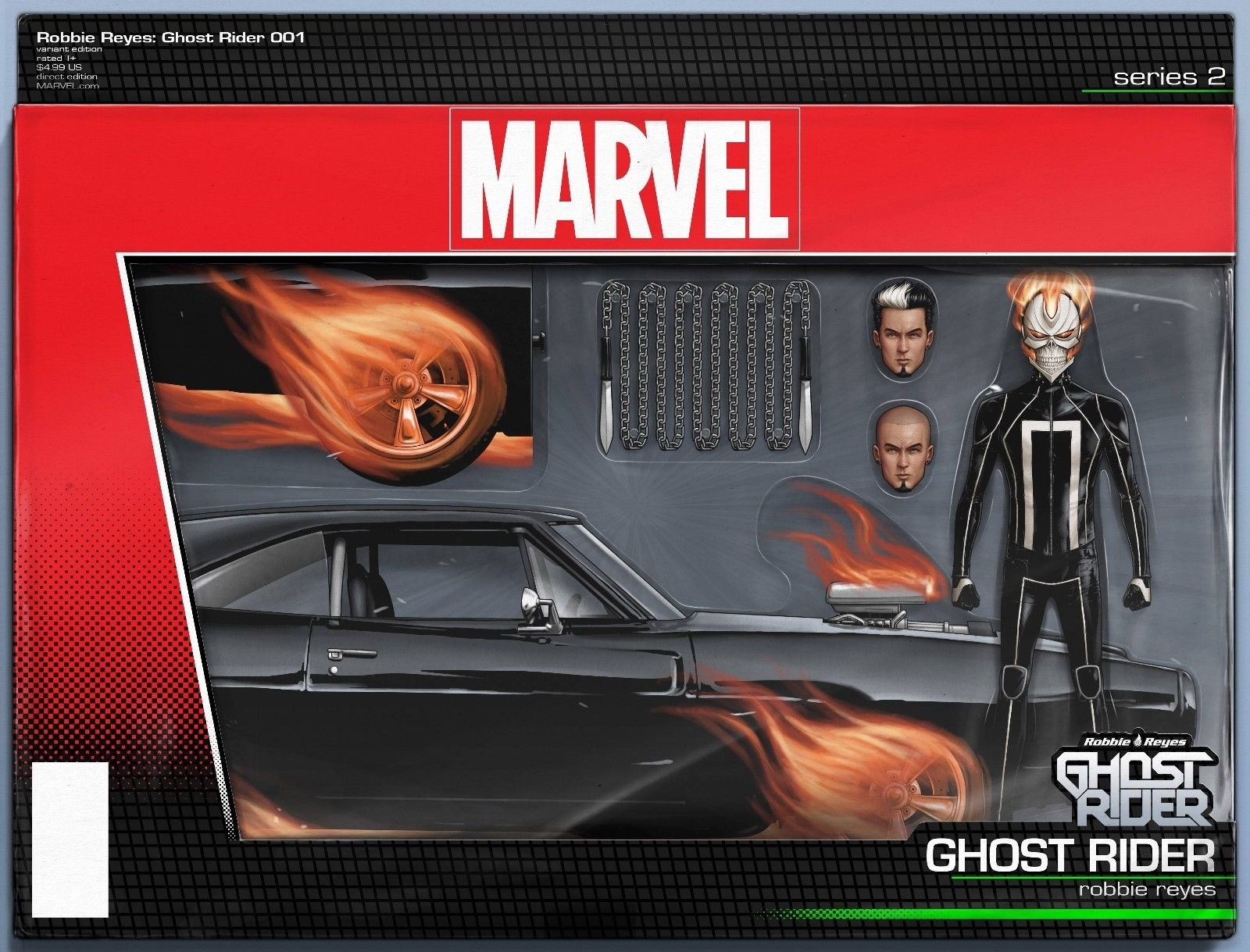 Ghost Rider (Issue #1 -Action Figure Variant by John Tyler Christopher) pdf epub