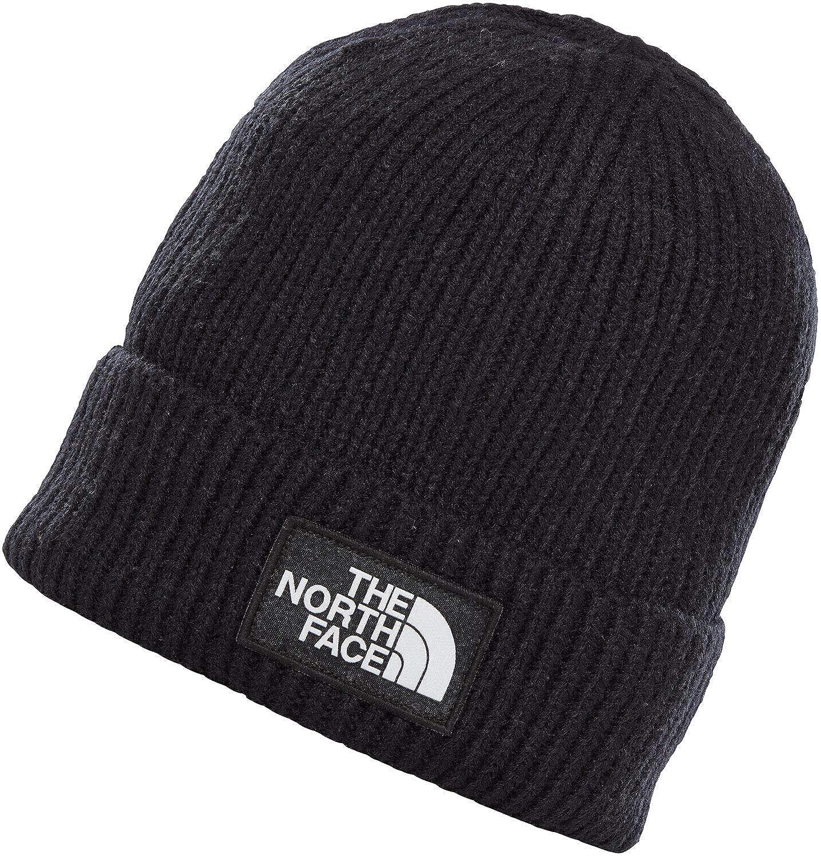 The North Face TNF Logo Box Cuffed Beanie T93FJX-H2G
