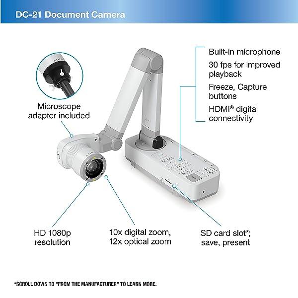 great HD docment cam for schools