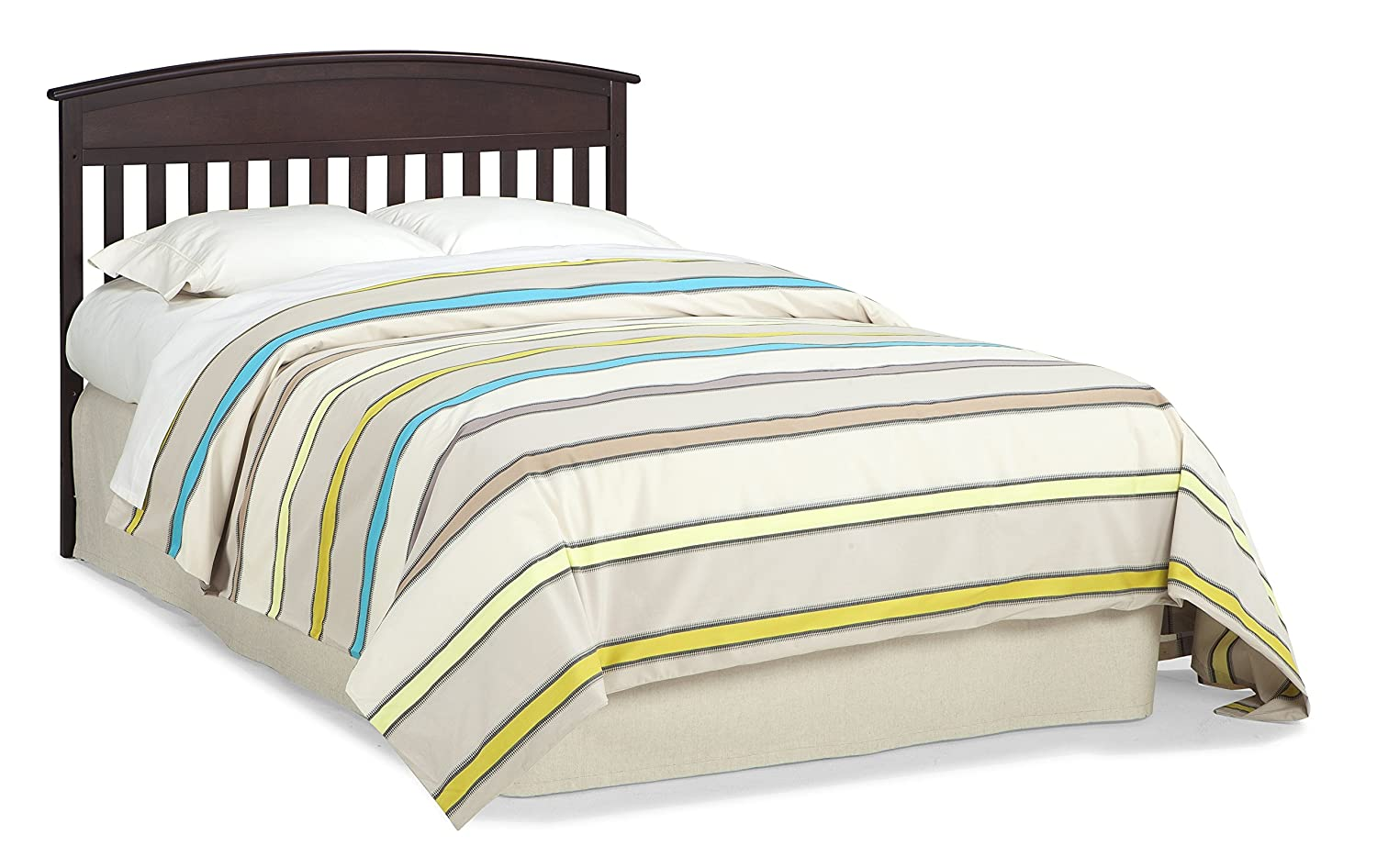 Whitewash Easily Converts to Toddler Bed Daybed or Full-Size Bed with Headboard Graco Benton 4-in-1 Convertible Crib 3-Position Adjustable Mattress Support Base