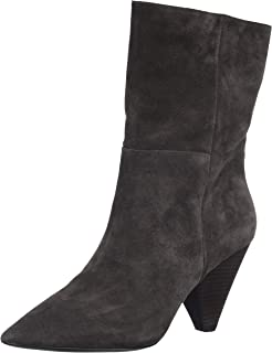 52a43603cee5 Ash Doll Mid Calf Boots Black Leather 41 Black.  Amazon.co.uk  Shoes ...