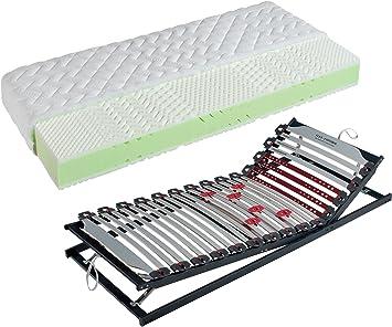 Pack de ahorro: Visco colchón de espuma fría Hydra + somier ...