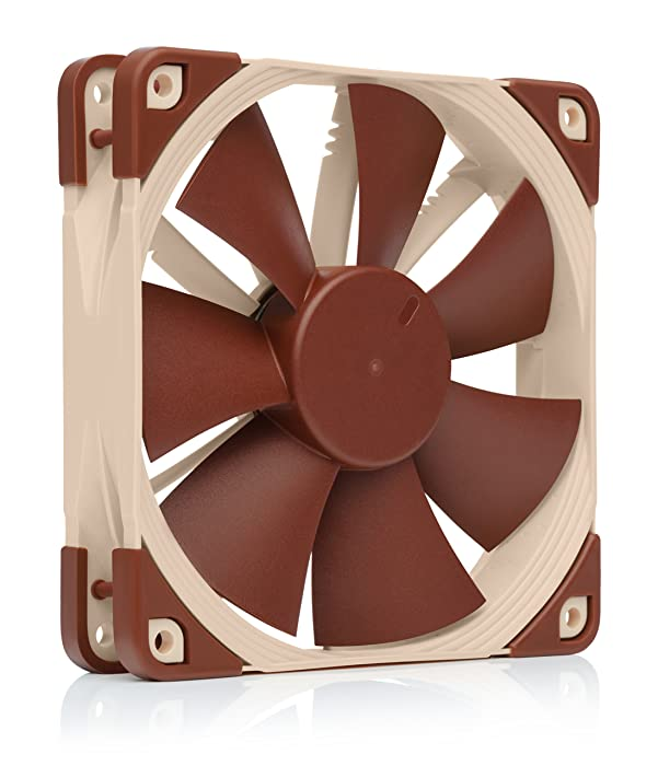 Noctua NF-F12 PWM, Premium Quiet Fan, 4-Pin (120mm, Brown)