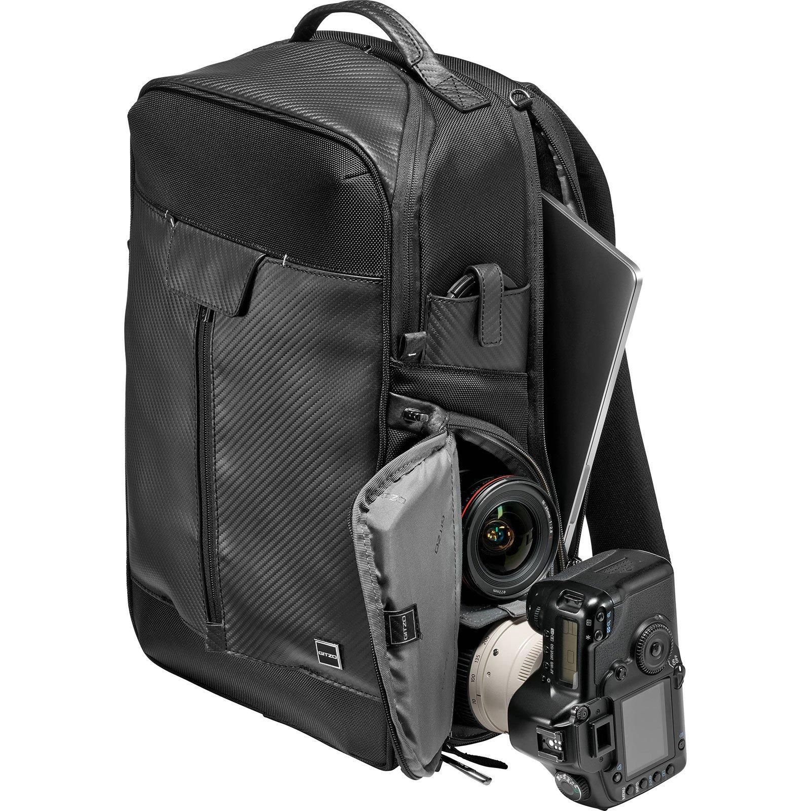 Gitzo Century Traveler Digital SLR Camera Backpack with Flash Diffuser Set + Lens & Sensor Cleaning Pens + Kit by Gitzo (Image #3)