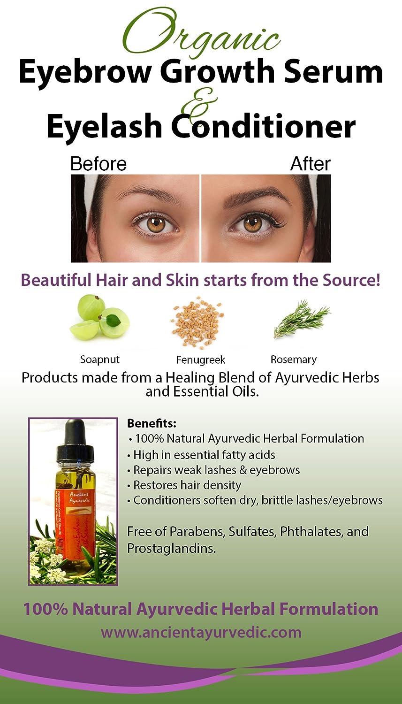 Amazon Eyebrow Growth Serum Our 1 Ayurveda Herbal Serum