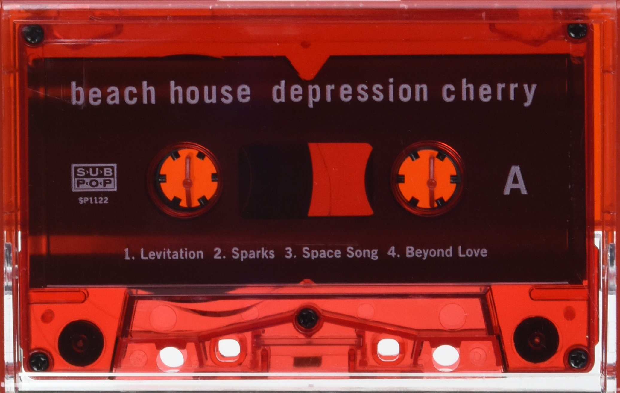 Cassette : Beach House - Depression Cherry (Red)