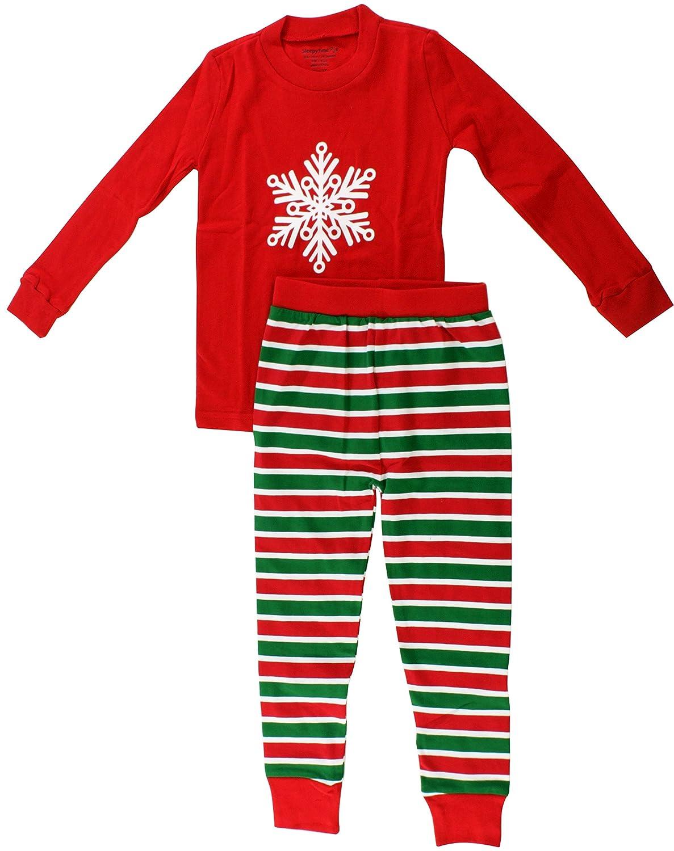 Amazon.com: SleepytimePjs Kids Christmas Pajamas: Clothing