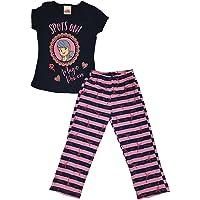 E-Fashion Conjunto de Pijama de Ladybug, Suave y cómoda para Dormir, Moda para niña, Lady Bug