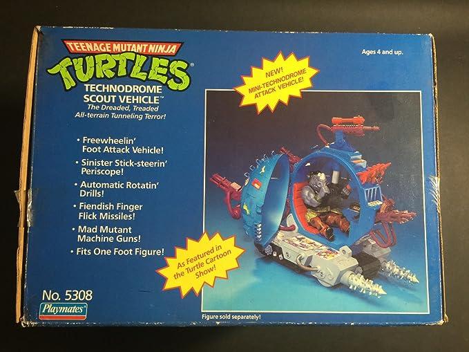 Amazon.com: TMNT Teenage Mutant Ninja Turtles technodrome ...