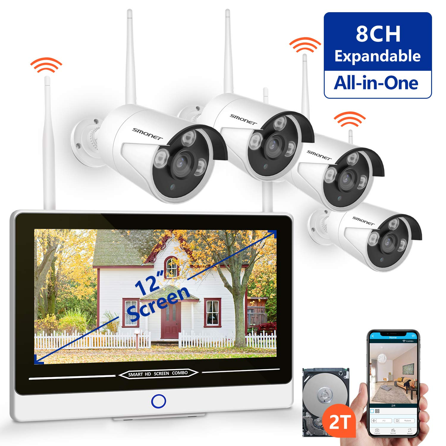 Best Home Surveillance System 2020.Best Rated In Complete Surveillance Systems Helpful