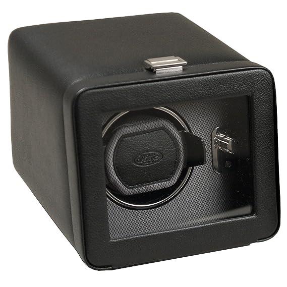 Lobo diseños Windsor Módulo 2.5 único relojes, con Tapa, Negro: Wolf Designs: Amazon.es: Relojes