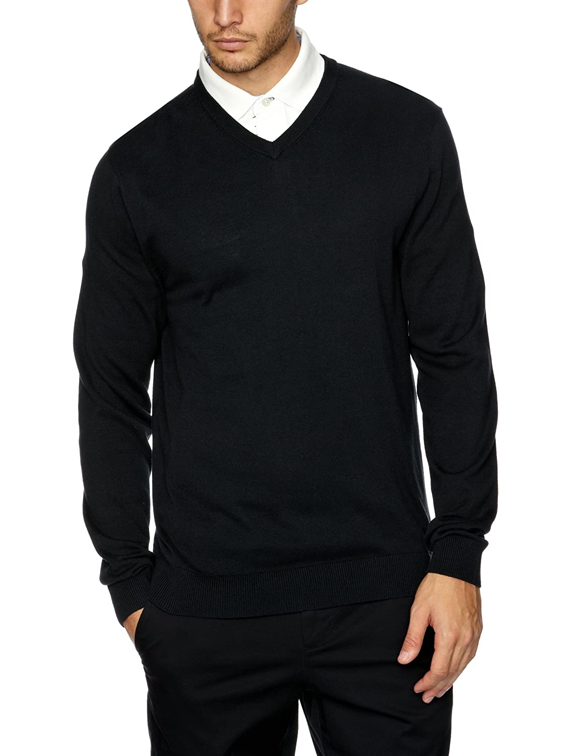 Tommy Hilfiger Men's Preston Golf Pullover Sweater V