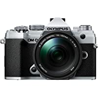 Olympus OM-D E-M5 Mark III Camera - Kit with 14-150mm Lens (Silver)